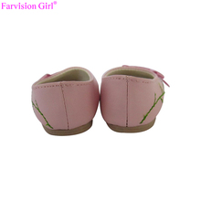 Oem american doll toy shoes embroidered wholesale
