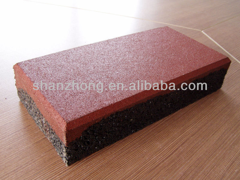 safety rubber floor tile