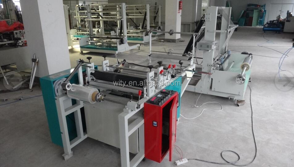 Plastic Film Edge Folding Machine