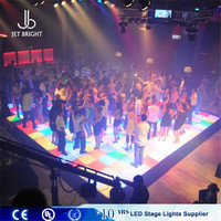 Night club make led dance floor tiles, Party dmx led dance floor
