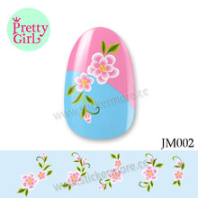 Nail Art Water Transfer Stickers Decal DIY Manicure Decorations JM002