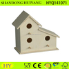2016 new design of Wooden garden accessories wood bird house