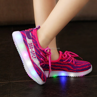New design 2017 kids led shoes LED Shoes whoelsaleFestival led light running shoes