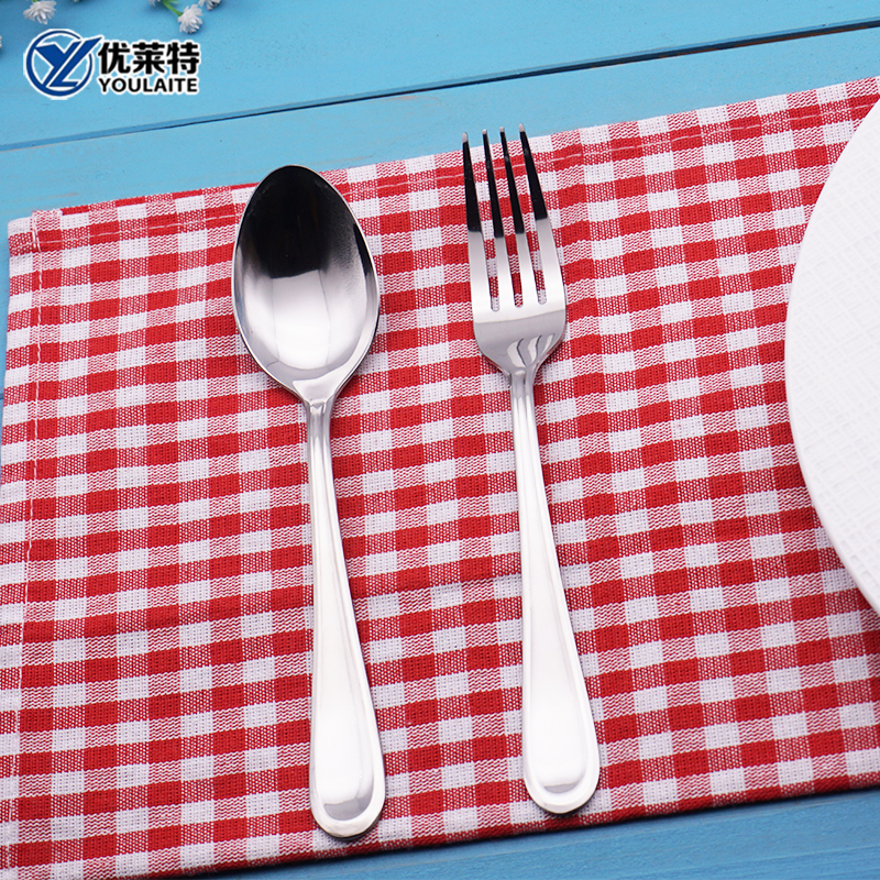 Stainless steel 304 spoon and fork fruit fork