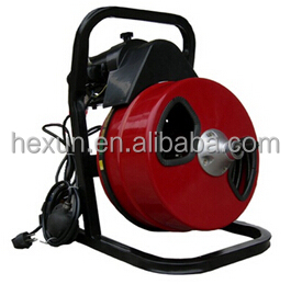 Electric pipe drain cleaning machine AU50 with high quality and best price, drum drain cleaner