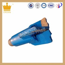 Alloyed And PDC Drag Bit, 3 Wing Drag Bit For Soft Stratum And Soil Stratum