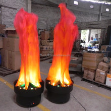 Foshan YiLin Solar Fake Fire Led Silk Flame Light