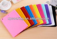 Chocolate bean silicone case for ipad air, silicone cover for ipad 5