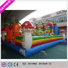 0.55 mm PVC Air Playground, Giant Inflatable Dry Park, Inflatable Amusement Park on Sale