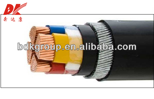 PVC insulated and sheathed power cable / empty wooden power cable spool