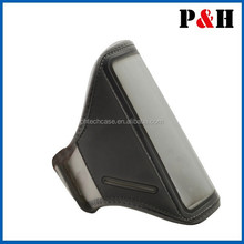 Waterproof armband for mobile phone, universal captain armband/ arm case with factory price
