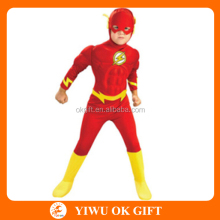 Yiwu Supplier Flash With Muscle Cosplay Costume