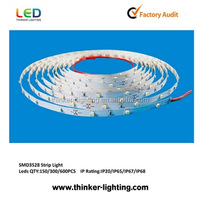 Hot sale 12v waterproof cob flexible led strip 60leds/m 3528 smd led flexible strip