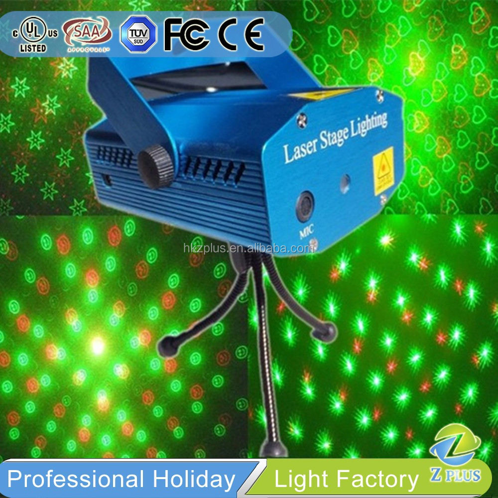 Wholesale Mini Red and Green stage light mixer