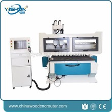 1325 cnc wood router machine vacuum table multi spindle automatic loading and unloading