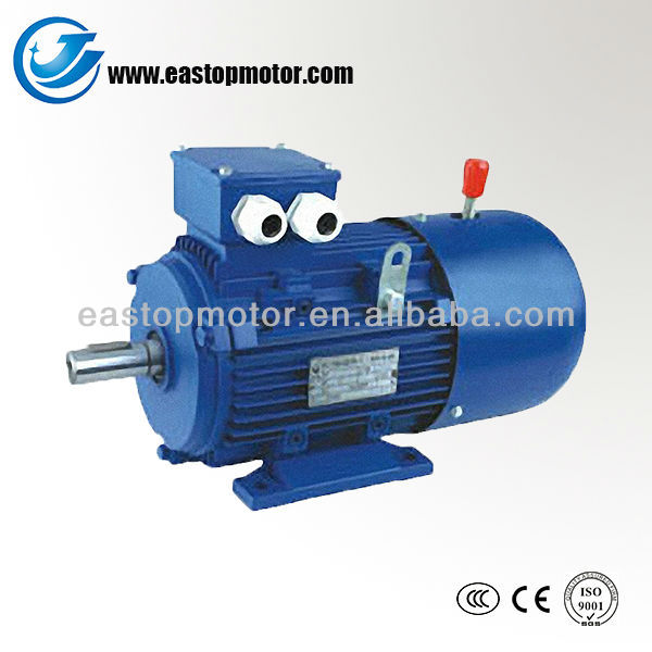 YEJ three phase 380v ac electric brake motors