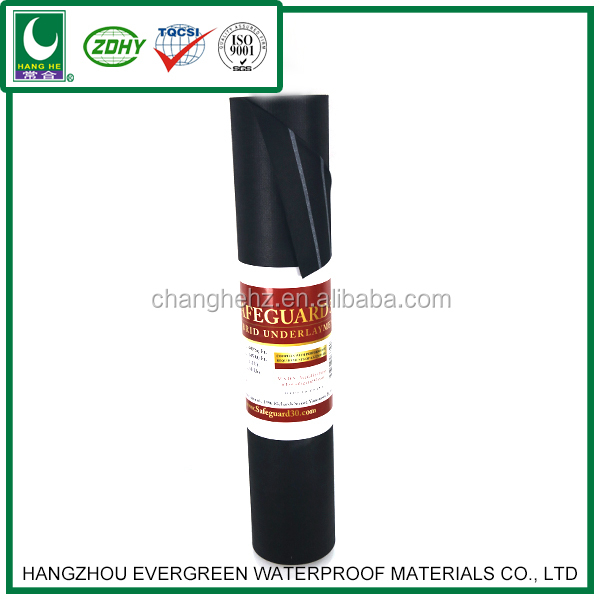 3mm plastic waterproof membrane high permeable roofing underlay
