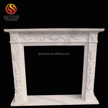 Cheap indoor marble fireplace