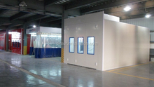 spray paint booths with Ventilation System