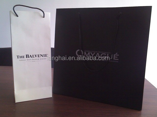 Suppliers china paper auchan shopping bag