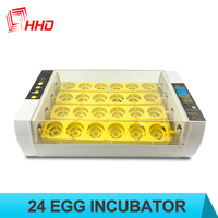 hhd high demand products egg to chicken machine black chick incubator YZ-24A