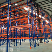 Hot sell 2016 cheapest 2 layer long span heavy duty iso 9001 warehouse racking system, storage rack
