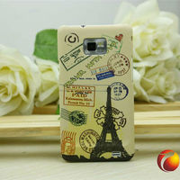for Samsung Galaxy S2 SII i9100 unique couples case Paris tower design back case plastic hard case