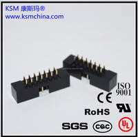 Pitch 2.54mm Box header straight type connector 14pin