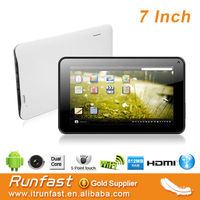 2014 low price smart pad 7inch tablet pc android mid Android4.2.2 Dual Camera 5 point capacitive touch screen
