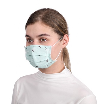 High Quality Custom Color Green Medicos Surgical Face Mask