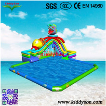 Giant cartoon inflatable water slides,Outdoor popular inflatable water slides for sale,Hot large water slide