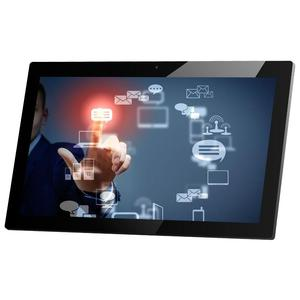 Wall mounted 21.5 inch wifi/ /rj45 usb media player with android 4.4 system
