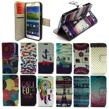 Magnetic pu leather mobile phone cell case for Samsung S5