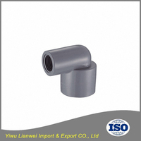 China factory High quality Pipe Fittings 90 Degree CPVC Female Elbow