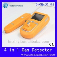 PGas-41 O2,CO,H2S,Flammable portable multi alarm gas detector