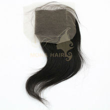 100% Natural Virgin lace front closure weaves