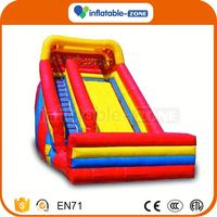 OEM ODM inflatable mini slide for sale outdoor inflatable slide dry on playground