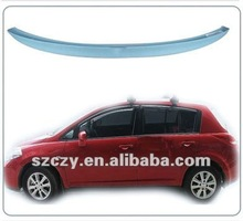 ABS rear spoiler for NISSAN Tiida