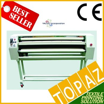 Korea Roll Heat Press Machine - Elecrtic Drum Type (170cm width, 17cm dia drum)