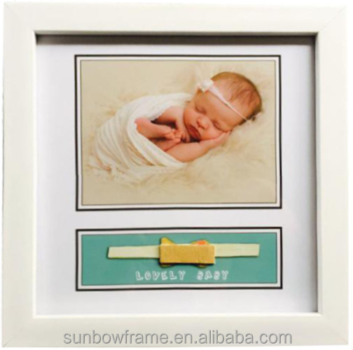 Wholesale Baby photo frame plastics PS photo frame picture frame for decor