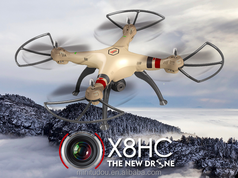 2016 newest 2mp HD camera syma drone X8HC with barometer height X8HG X8HW