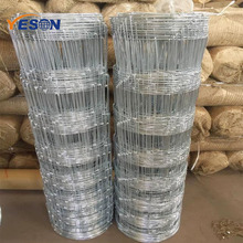 Cheap field non-climb horse and sheep fence Galvanized livestock cattlewire mesh fence