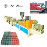 2016 PVC corrugated tile machine /roof tile roll forming machine /plastic making machine