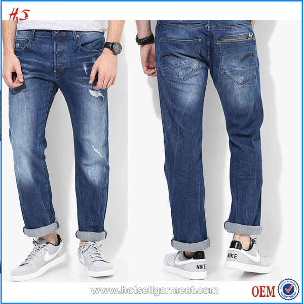 Latest Denim Jeans Wholesale By Jeans Manufacturers China In Regular Fit Of Washed Jean Pants In Grey