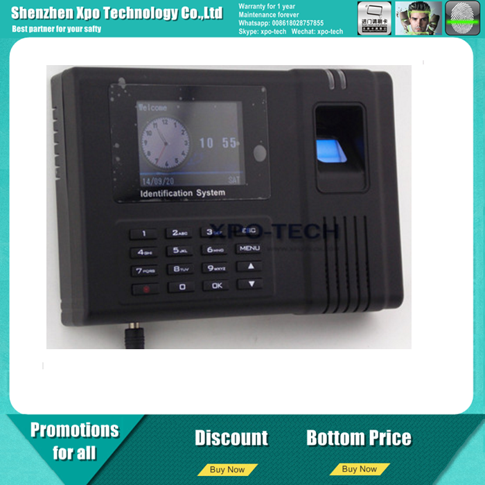 USB Biometric Fingerprint Reader Time Attendance Recorder