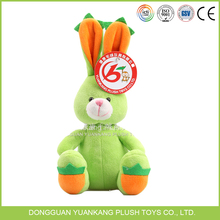 Wholesale long ear dancing rabbit fur animals from chinese