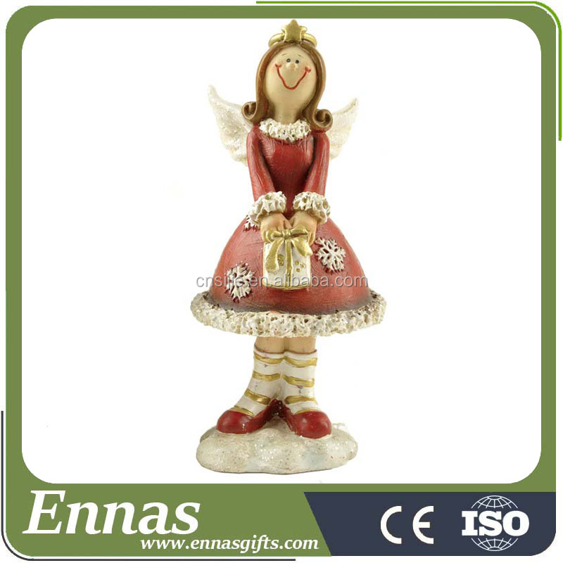 Polyresin christmas angel decorations