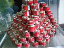 Paste de tomato/canned tomato paste brix28-30%,70g~3000g