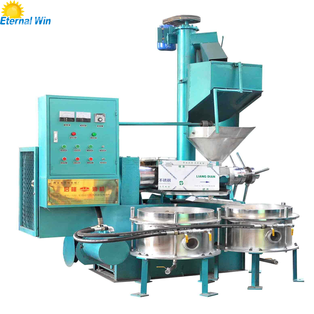 Lower Price cold press sunflower oil making / oil extraction machine price