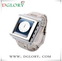 DG-AK812A cheap 1.44inch silvery watch mobile phone